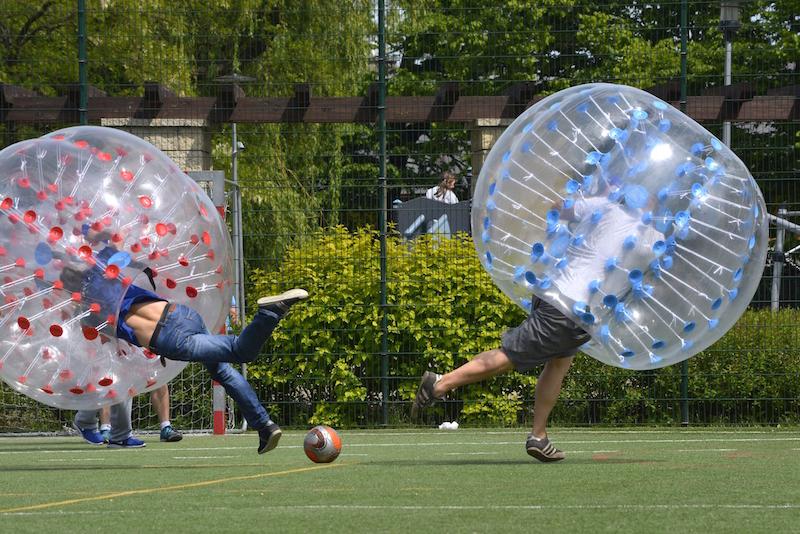 bubble football mielec